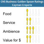 Golden Spoons Review: Cayman Creperie