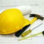 Construction industry trade show set