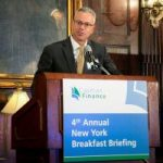 Scott serves up CI financial sector at NY breakfast