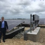 Solar farm blooms despite unique challenges